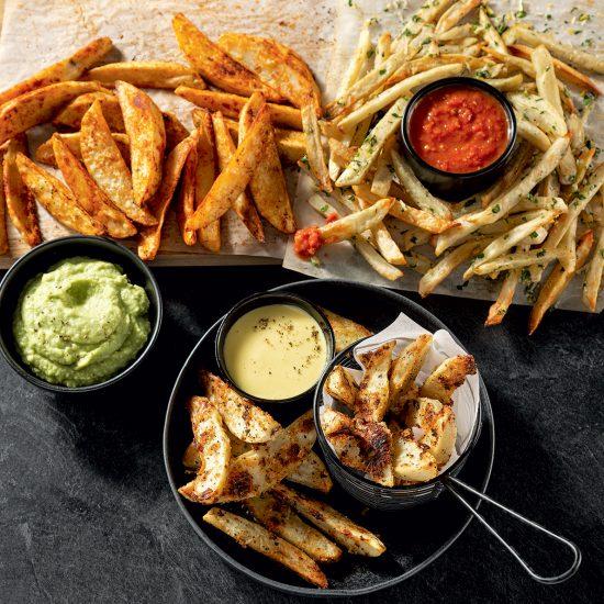 Plateau de frites gourmandes