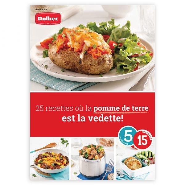Magazine numérique: 25 recettes où la pomme de terre est la vedette!
