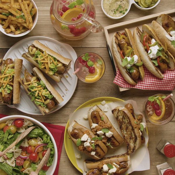 Party hot-dogs