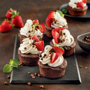 Cupcakes chocolatés à la pomme de terre