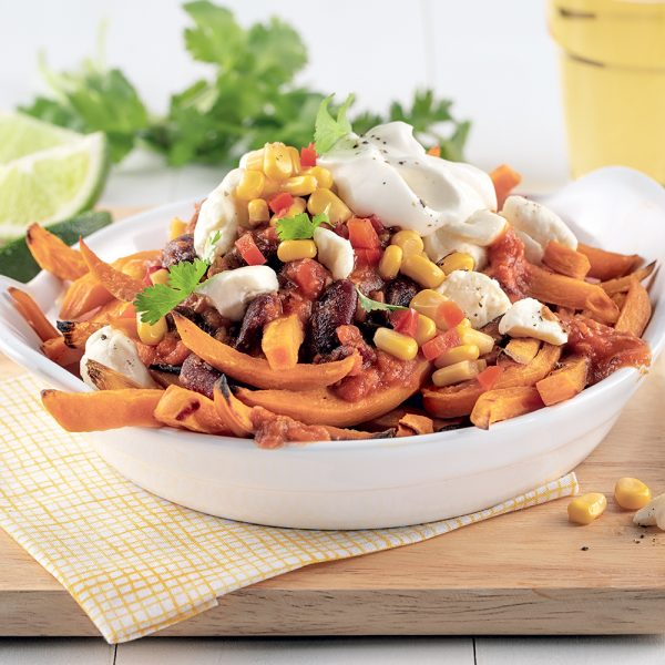 Poutine mexicaine