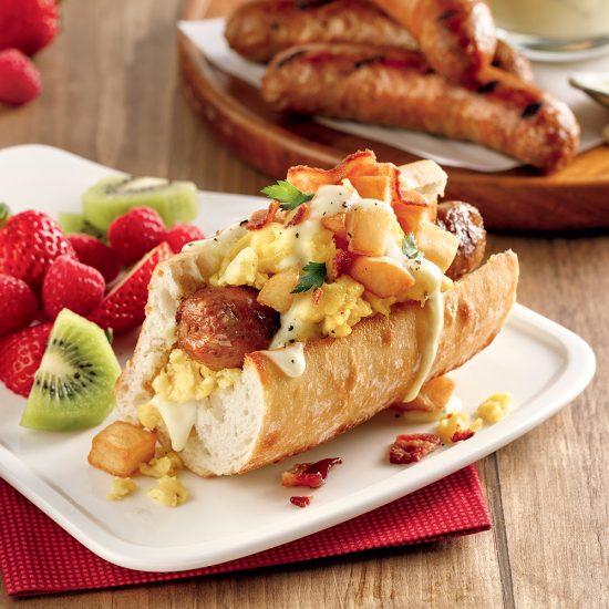 Hot-dogs déjeuner