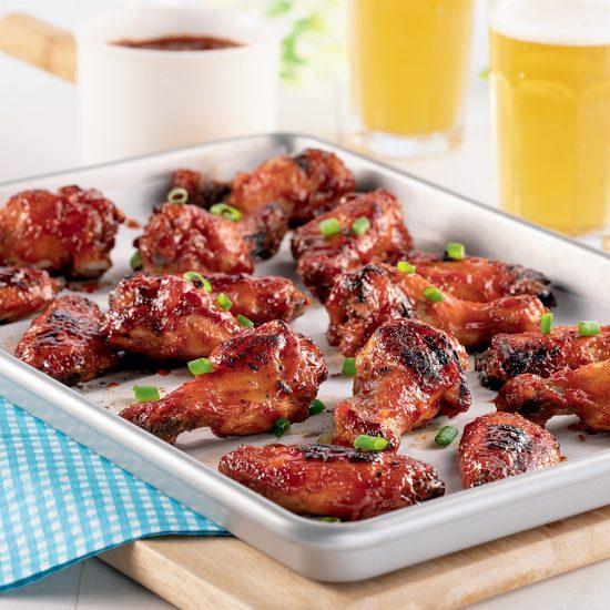 Plaque d'ailes de poulet à partager