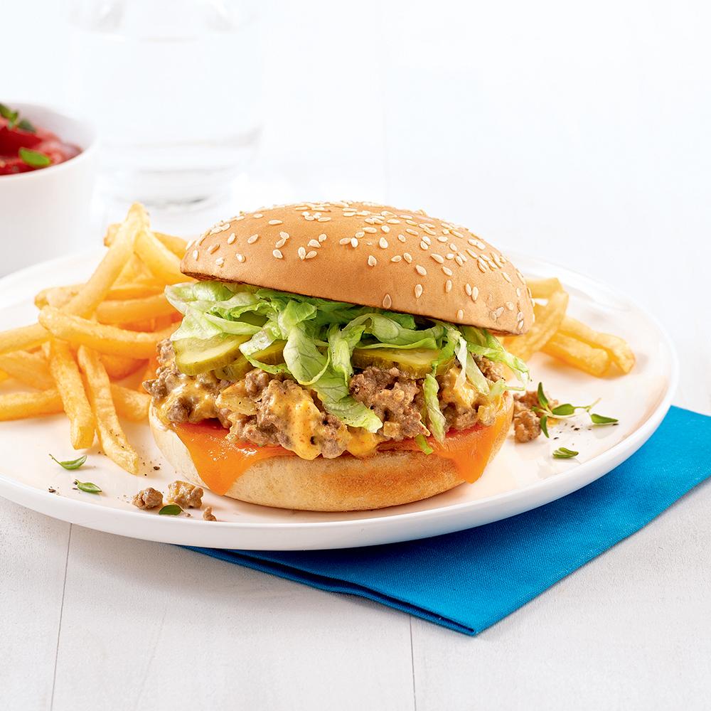 Sloppy Joe style Big Mac