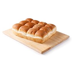 petits pains ronds de type Pom