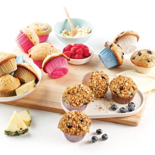 Muffins: recette de base + 4 variantes