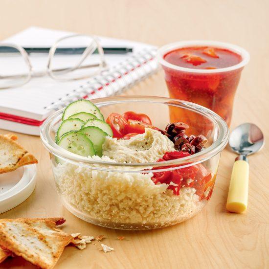 La parfaite boîte à lunch équilibrée… pour les parents!