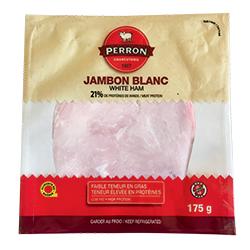 Jambon blanc de la Boucherie Charcuterie Perron