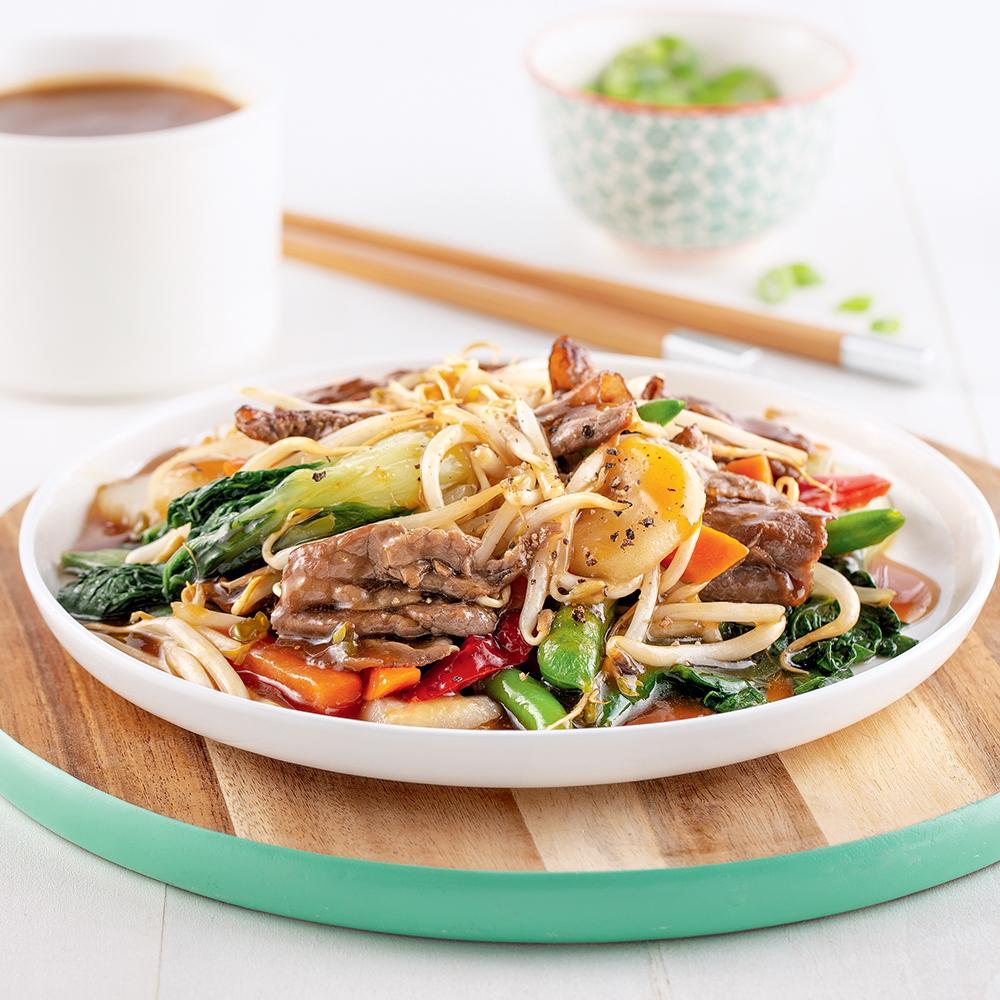 Chop suey au boeuf