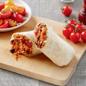 Burritos au boeuf et Délice de Grains