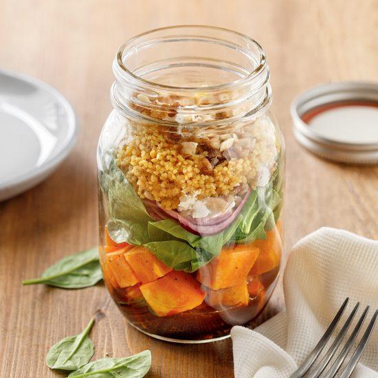 Salade de couscous tiède aux épices