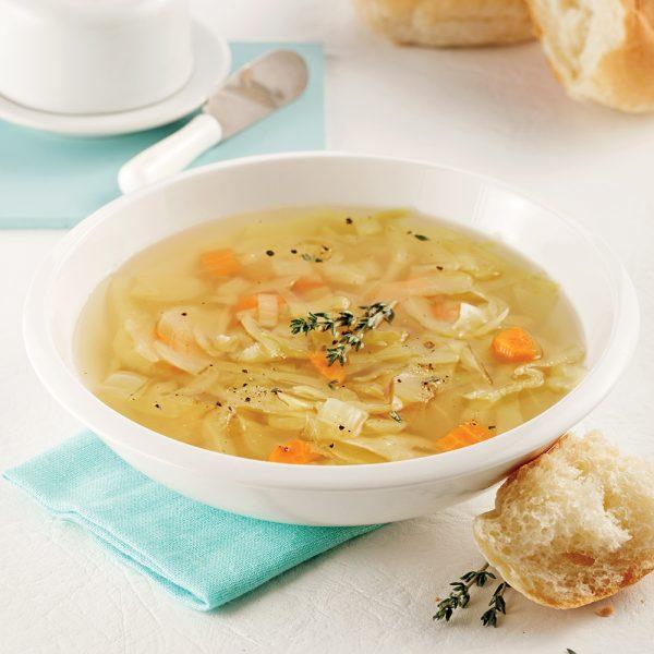 Soupe au chou à la mijoteuse