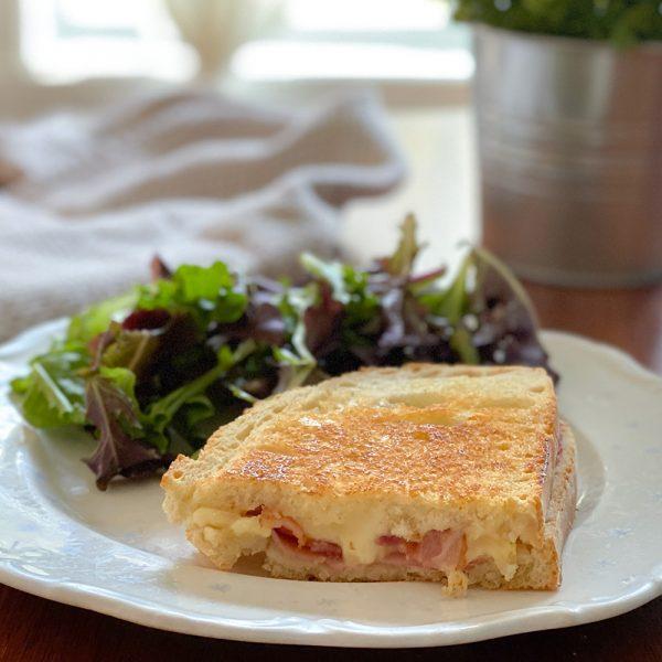 Grilled cheese sucré-salé de Je suis une maman