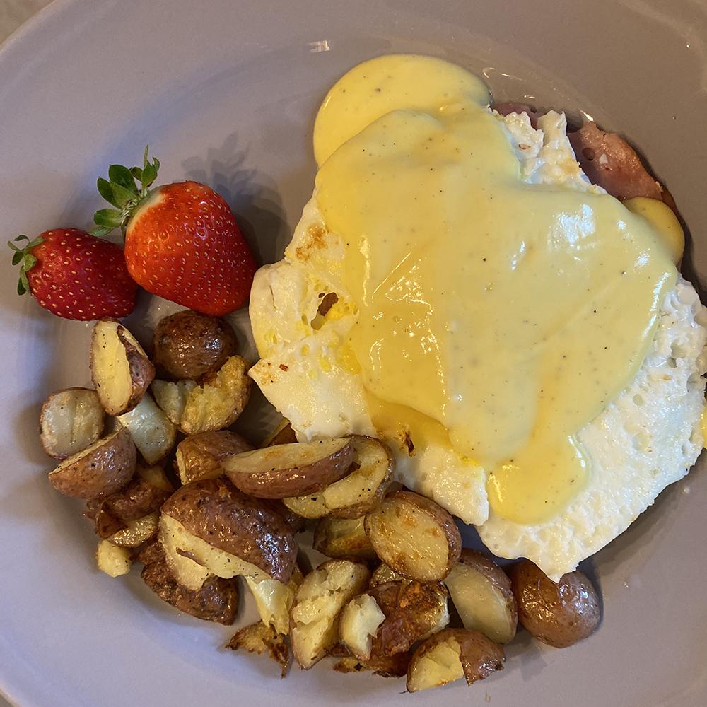 Tartine déjeuner et patates rôties de Mom Ready To Go