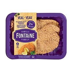 Escalopes de veau panées Famille Fontaine