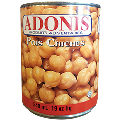 Pois chiches Adonis