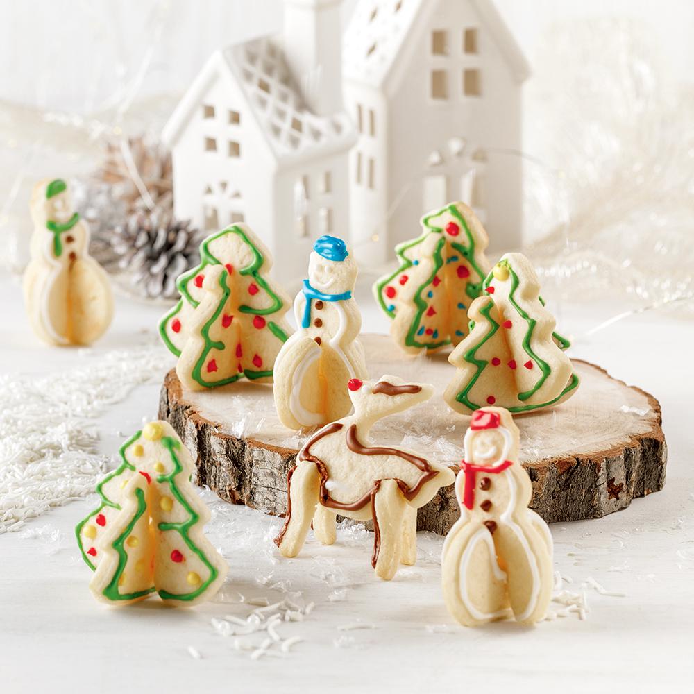 Biscuits au sucre 3D