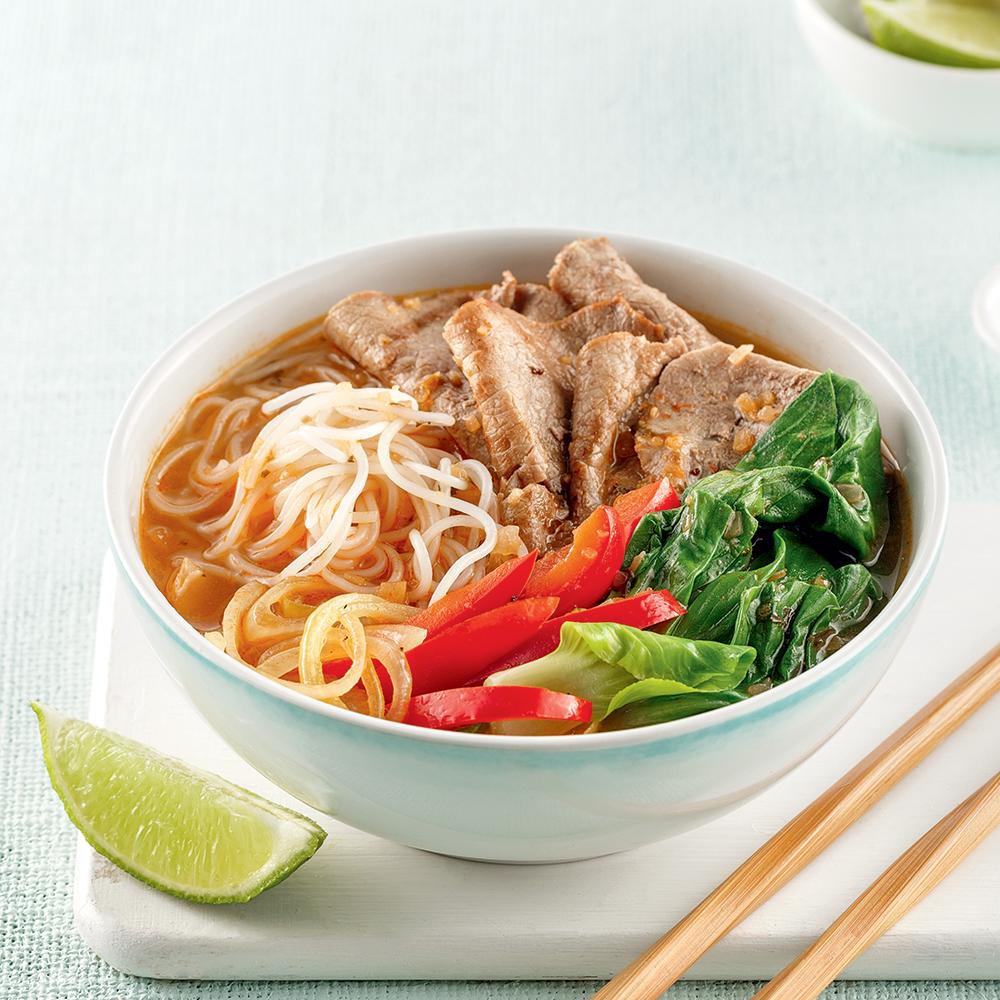 Soupe-repas à la fondue chinoise