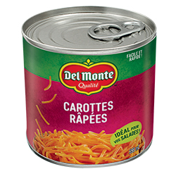 carottes râpées Del Monte