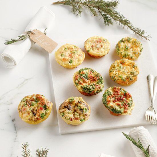 Mini-omelettes au choix