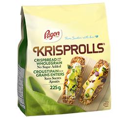 croustipains faits de grains entiers sans sucres ajoutés Krisprolls