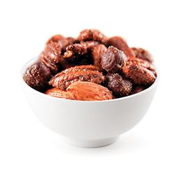mélange de noix à l'érable