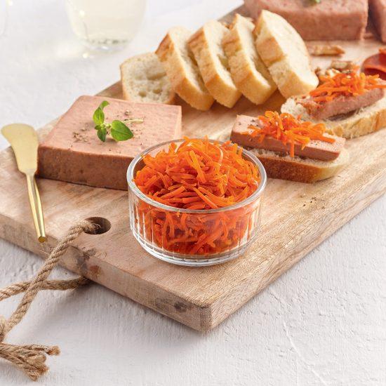 Confit de carottes à l'érable