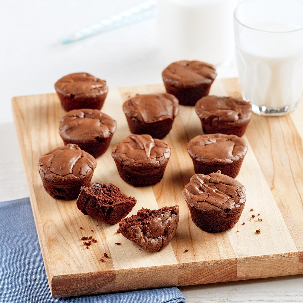 Bouchées de brownies