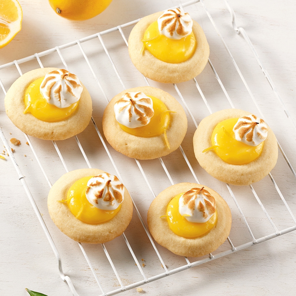 Biscuits tarte au citron