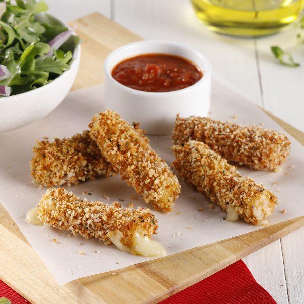 Bâtonnets de fromage à la friteuse à air