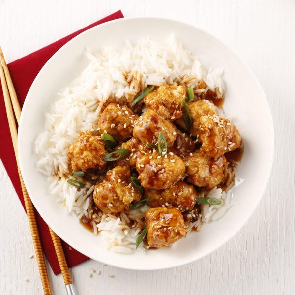 Poulet Général Tao à la friteuse à air