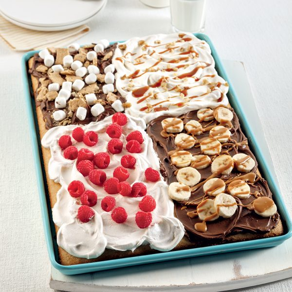 Gâteau quatre garnitures