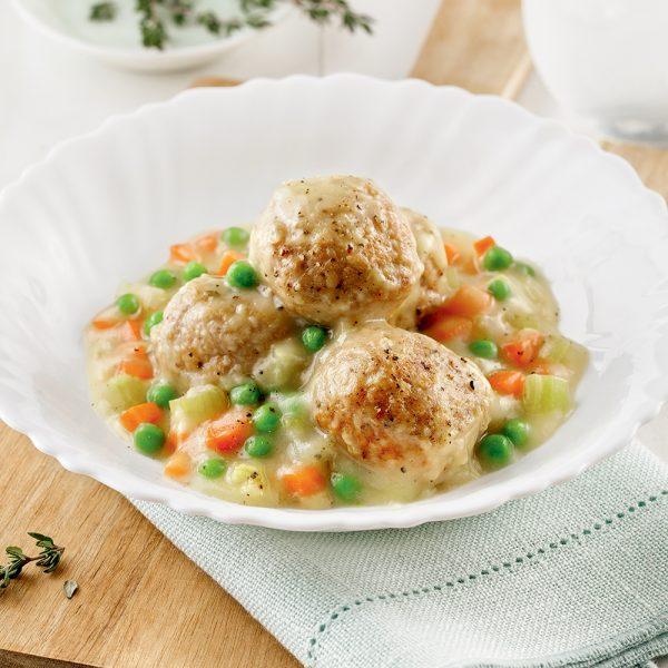 Boulettes style pâté au poulet