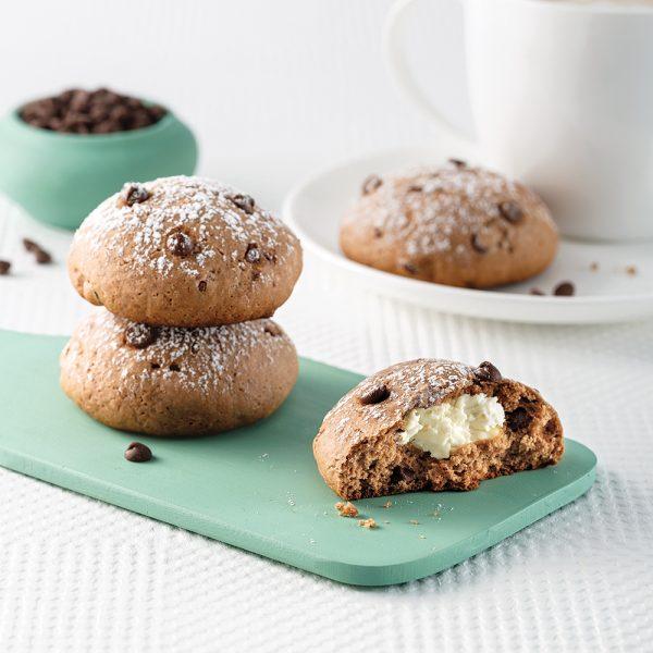Biscuits au fromage à la crème et pépites de chocolat