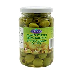 Olives vertes dénoyautées CEDAR