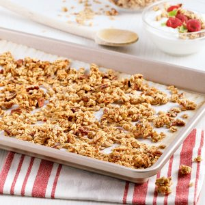 Granola érable et pacanes sans gluten
