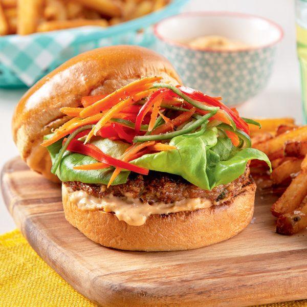 Burgers style banh mi