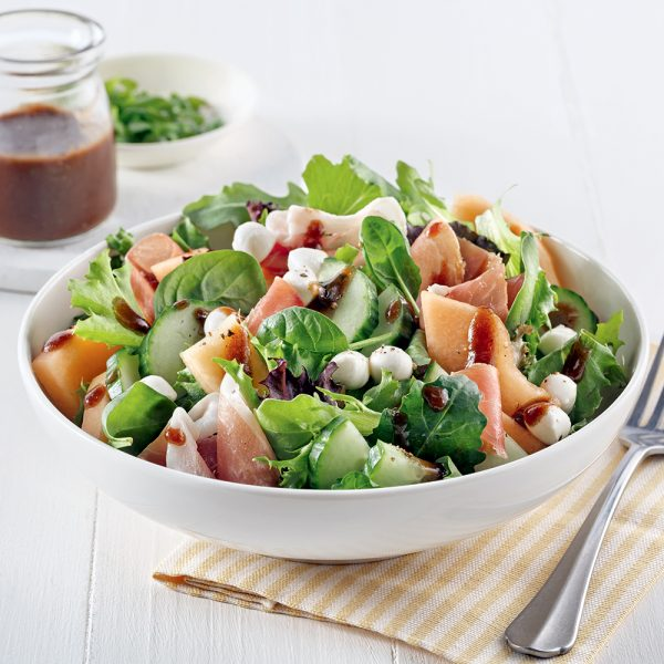 Salade de cantaloup et prosciutto