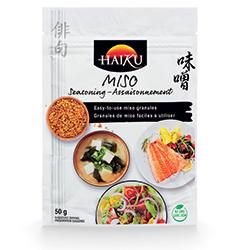 Granules de miso Haiku