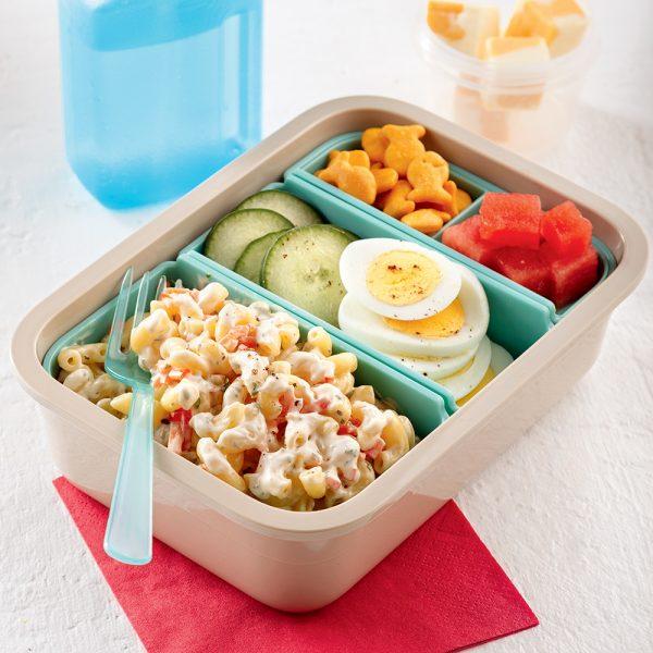 Boîte bento salade froide