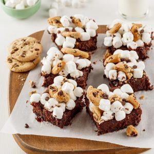 Brownies à la purée de flageolets