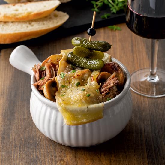 Raclette bowl au canard