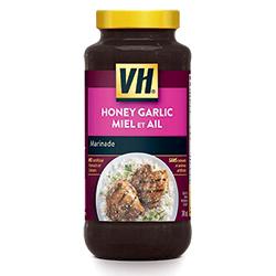 marinade miel et ail VH
