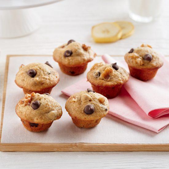 Mini-muffins pain aux bananes