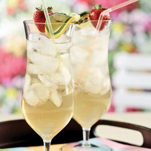 Infusion glacée lime et verveine citronnelle