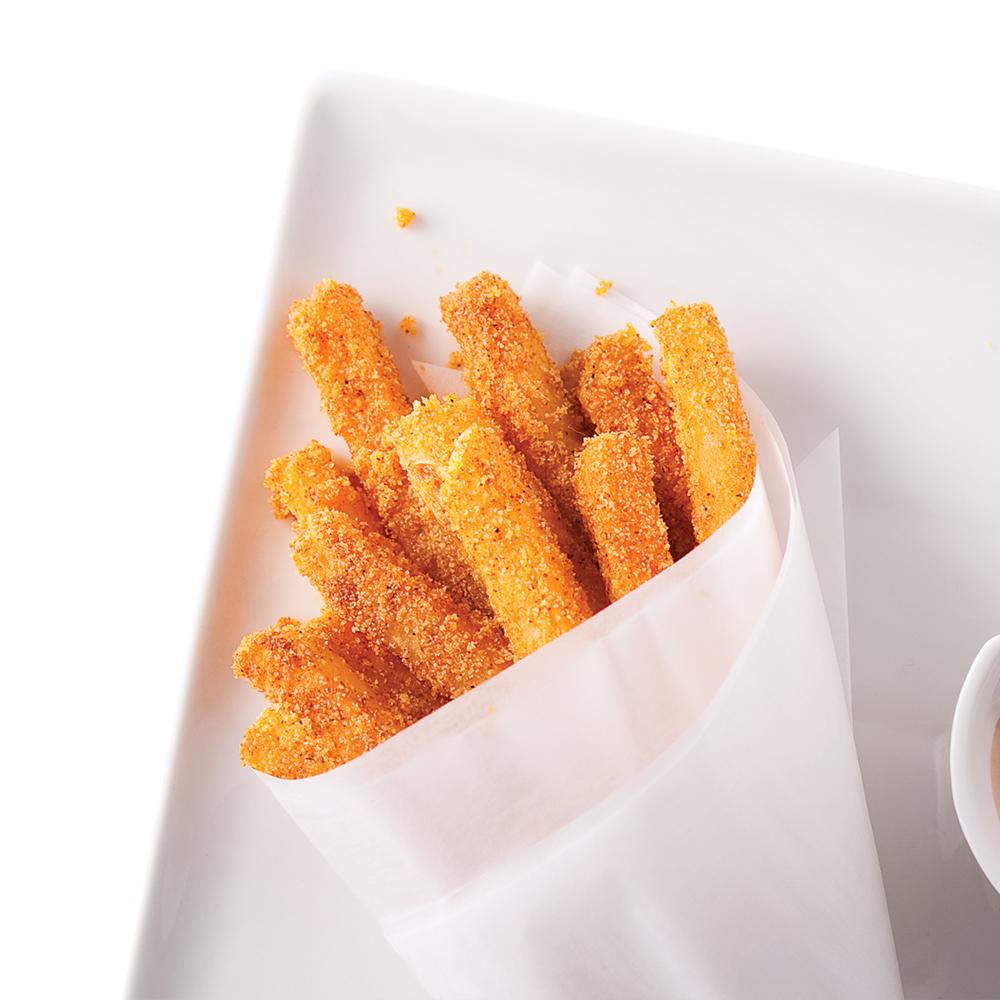 Rutabaga en frites aux épices cuites au four