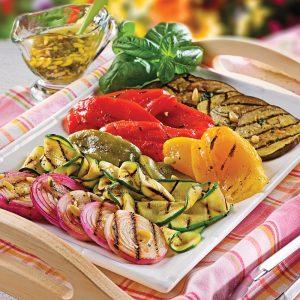 Salade de légumes grillés à l'italienne