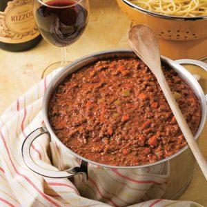 Sauce à spaghetti maison
