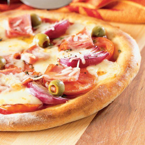 Pizza mozzarella et Fin Renard