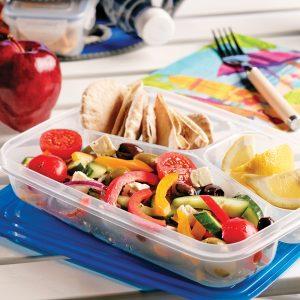 Légumes à la grecque pour le dîner